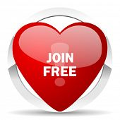 join free valentine icon