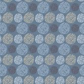 Seamless pattern with doodle texture