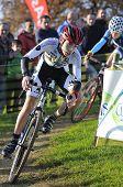 Gijon, Spain - January 9: Cyclocross Championships Spain In January 9, 2015 In Gijon, Spain. The Cyc