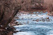Winter on Animas River
