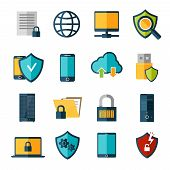 Data Protection Icons Set