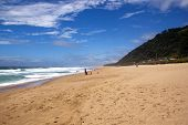 Open Spaces At Brighton Beach, Durban South Africa