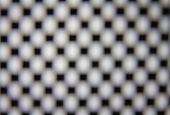 The Squre Dot Grid With Blur Focus