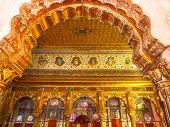 Decoration Inside Mehrangarh Fort