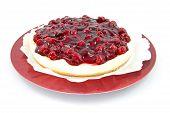 Cherry Pie auf Platte