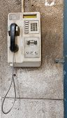 Old Public Telephone