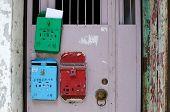 Postboxes, Hong Kong