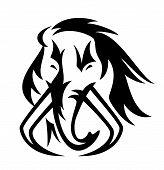 Mammoth En Face