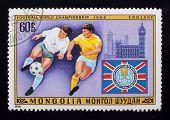 Post Stamp. Football