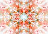 Orange Kaleidoscope Background