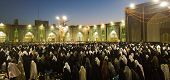 Prayer at the shrine of Imam Ali bin Mussa Alrida