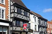 Tudor buildings, Tewkesbury.