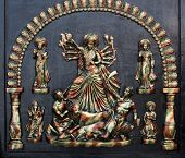 Miniature Of Goddess Durga, Indian Handicrafts Fair