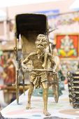 Miniature Rickshaw Puller, Indian Handicrafts Fair