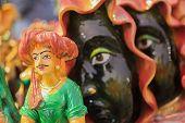 Terracotta Dolls, Indian Handicrafts Fair At Kolkata
