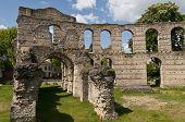 Ruins Of The Coliseum Of Bordeaux, France