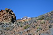 Mountain Teide in Tenerife, Canary Islands, Spain.