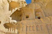 Cave church in Cappadocia near Goreme, Turkey.