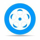 Film Reel, Vector Eps Version 8