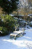 Snowy Garden chair