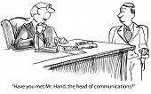 Head of Communications