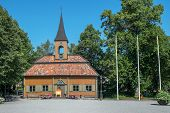 stock photo of city hall  - The old city hall in Sigtuna - JPG