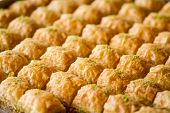 pic of baklava  - Turkish sweet baklava also well known in middle east - JPG