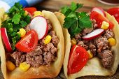 pic of tacos  - Mexican food Taco - JPG