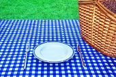 Постер, плакат: Summer Weekend Picnic Concept