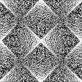 picture of quadrangles  - Design seamless monochrome geometric pattern - JPG