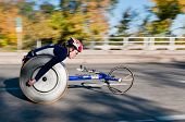 Christina Ripp - 2010 Medtronic Twin Cities Marathon - Women's Wheelchair Division
