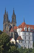 Meißen cathedral and Albrechtsburg, Germany