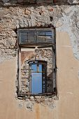 Edifício abandonado, ilha de Halki