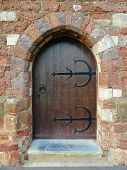 Ancient Church Doorway