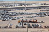 Big Warehouse Of Cars On April 15, 2010 In Abu Dhabi, Uae
