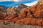 Red Rock Canyon Rocks