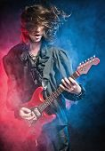 stock photo of rock star  - Rock - JPG