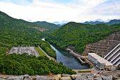 The dam in Thailand