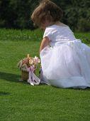 Tiny Flower Girl