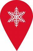 Snowflake Icon poster