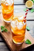 Iced Tea With Lemon poster