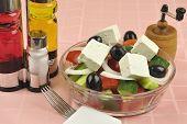 Greek Salad Arrangement