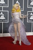 LOS ANGELES - JAN 31: Lady Gaga at the 52nd Grammy Awards at Staples Center in Los Angeles, Californ