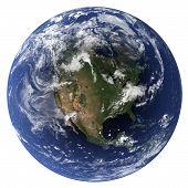 Постер, плакат: Земля Северная Америка