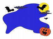 Halloween Card Abckground