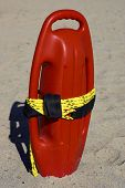Red Plastic Buoyancy Aid
