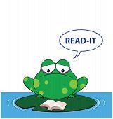 Frog read it