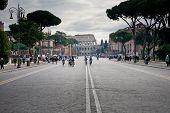 Cycle Racing  Near Colosseum