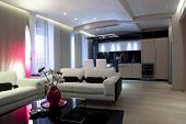 Modernes Apartment-Interieur
