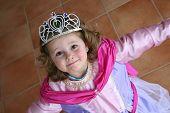 Little Princess Is Dancing Around
